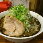 麺の房 味わい亭 - ネギラーメン 麺大盛り