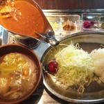 武相荘 - 料理写真:チキンカレー