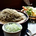 露伴 - 料理写真:天もりそば@税込1,100円