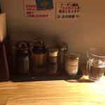 麺肴 ひづき - カウンター