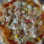 風音 - チキンのピザ
