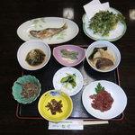 奥会津温泉 ゆの宿「松屋」 - 料理写真:夕飯のお料理です