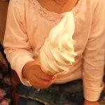 杉養蜂園 - のはちみつソフトクリーム 300円