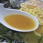 末広家 - 動物系の旨味濃厚なスープ!