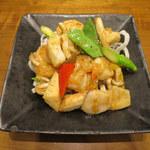 103875580 - 海鮮三種の炒め(あっさり塩味)