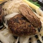 がっつりステーキ - ハンバーグS 600円はお得!
