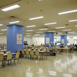 福岡県庁食堂 - 福岡県庁舎地下一階にある大食堂。