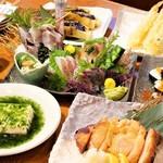 寿司居酒屋 太郎丸 - 4500円コース