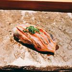 京極寿司 - あじ