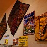 ラクシュミー - 異国的な壁