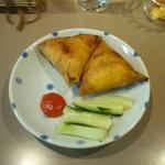 ミャンマーカレー TeTe - サモサ