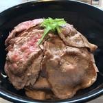 ステーキよこい - 絶妙な焼き具合ෆ̈
