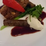 ビストロアンジュ - この日のAコースメインのお肉