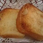ビストロアンジュ - 追加してくださったパン
