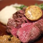 Wattle Tokyo - クイーンズランド産穀物牛フィレのグリル ★いっしーリコメンド