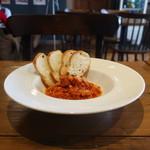 Pizzeria&Osteria AGRUME - 牛トリッパのトマト煮込み