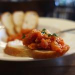Pizzeria&Osteria AGRUME - 牛トリッパのトマト煮込みオンザバゲット
