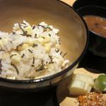 和食や ちそう - 土鍋炊き込みご飯
