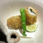 和食や ちそう - 松茸と鱧二身フライ