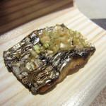 和食や ちそう - 太刀魚杉板焼き