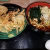 そば天丸 - 料理写真:かき揚げ天ぷらそば590円