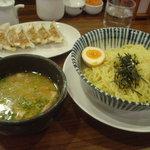 ちりめん亭 - 特選つけ麺+肉餃子