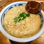 103901077 - 桜鯛潮汁風餡かけ玉子とじのおうどん セット(1580円)