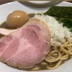 亀戸煮干中華蕎麦つきひ - 料理写真:味玉濃厚蕎麦980円