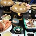 れんが亭 - 料理写真:カニづくし