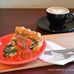 ペリカンコーヒー - キッシュモーニング