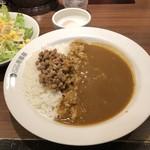 CoCo壱番屋 - 料理写真:納豆カレー+半熟タマゴ
