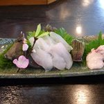 江戸前きよ寿司 - 本かわはぎ活き造り