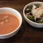 キッチントマト - スープ、サラダ