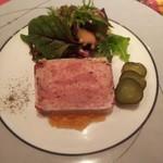 103910762 - 豚肉と鶏レバーのテリーヌ