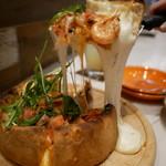 ブッチャー・リパブリック 仙台 シカゴピザ & ビア - アメリケーヌシュリンプのシカゴピザ