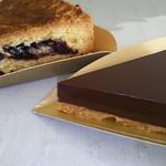 Tarterie PETITE USINE - 料理写真:チョコタルトとブルーベリータルト