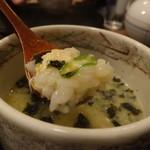 鶴翠 - 蟹雑炊