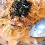 ピッツェリア マリノ - 料理写真:博多明太子のパルメナーラ