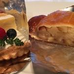 リサズケーキマーケット - 料理写真:ベリーチーズパイ アップルパイ