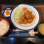 食事処こめや - 料理写真:メガチキンカツ定食