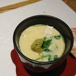 京ごはんふわっとふわっと - カマンベールチーズ茶碗蒸し