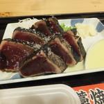 明神丸 - 肉厚で大きな7ピース 1口では入らんしもったいないぐらい美味い 傍らに柚子酢