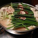 ぶあいそ - 博多モツ鍋(味噌)