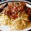 レストランハウスピーノ - 料理写真:ナスのミートスパゲッティ