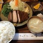 とんかつ一幸 - 料理写真:大関とんかつ定食 1,922円