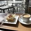Mamanoerandamotomachikeki - 料理写真:今日いただいたケーキとコーヒーです(2019.3.18)