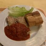イタリア料理屋 タント ドマーニ - 若鶏のオーブン焼き