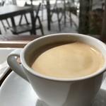 ママのえらんだ元町ケーキ - コーヒーは深煎りをお願いしました(2019.3.18)