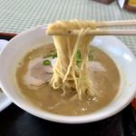 萬福軒 - 濃厚スープが絡みます