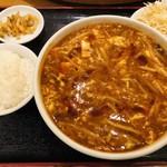 福招門 - 酸辣湯麺セット¥600(2019春)